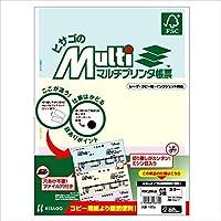 ヒサゴ マルチプリンタ帳票FSC A4カラー3面 (100枚) FSC2012