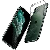 Spigen Liquid Crystal with Soft Gel Transparency Designed for iPhone 11 Pro Case Cover (2019) - Crystal Clear