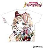バンドリ! 青葉 モカ Ani-Art フルグラフィックTシャツ vol.3 ユニセックス (L)