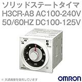 オムロン(OMRON) H3CR-A8 AC100-240V 50/60HZ DC100-125V (ソリッドステート・タイマ) NN