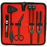 Limited Edition - Full Tactical Black - Grudge Style Set of 5 pcs Reflex Percussion Taylor Hammer + Penlight + Tuning Fork C