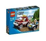レゴ シティ オフロード4WDとポリスATV 4437