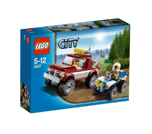 レゴ (LEGO) シティ オフロード4WDとポリスATV 4437