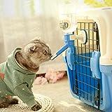 Fonlam ペット給水器 犬 猫 ウォーターノズル 留守番対応 猫用 自動 水飲み 給水器 キャット ウォーターボトル 健康 衛生 飲料水 スーパーク ワイエット 鳥 小動物用 BPAフリー 給水機 (グレー) 画像