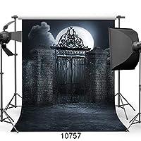 GooEoo 5x7ftハロウィンムーン写真の背景カスタマイズ写真の背景スタジオプロップ10757
