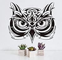 Ansyny フクロウヘッド動物ウォールステッカー用キッズルーム壁の装飾取り外し可能な壁アートデカールWallapperホームデコレーションアクセサリー49 * 44センチ