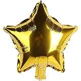 BEE&BLUE アルミ風船 星 バルーン 10個入 10色セット カラーが選べる 誕生日 パーティー クリスマス ウエディング 華やか グッズ 飾り付け