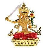 Fityle 文殊菩萨 仏像 チベット 合金 菩薩 家 装飾 置物