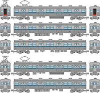 鉄道コレクション 鉄コレ 営団地下鉄5000系 東西線 非冷房車 増結5両セット A 鉄道模型用品 (メーカー初回受注限定生産)