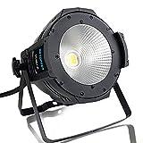 BETOPPER ステージライト 舞台照明 LED 回転 COB 100W DJ ストロボ DMX-512 オート 音声起動 照明ライト ムービングライト ディスコライト パーライト ストロボ 照明/演出/舞台/ディスコ/パーティー/KTV/結婚式/クラブ/バー DMX制御 イルミネーション