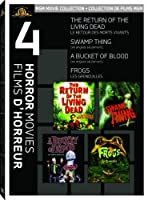 The Return Of The Living Dead/Swamp Thing/A Bucket Of Blood/Frogs [並行輸入品]