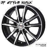 【 14インチ アルミホイール (4本)1台分セット 】MONZA JAPAN(モンツァ ジャパン) JP STYLE Wolx (ジェイピースタイル ヴォルクス) 14X4.5J 4H-100 +45 JWL規格適合品 大好評 カジュアルホイール ● 軽自動車