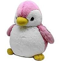 オーロラ ワールド ぬいぐるみ パウダーキッズ ペンギン L ピンク