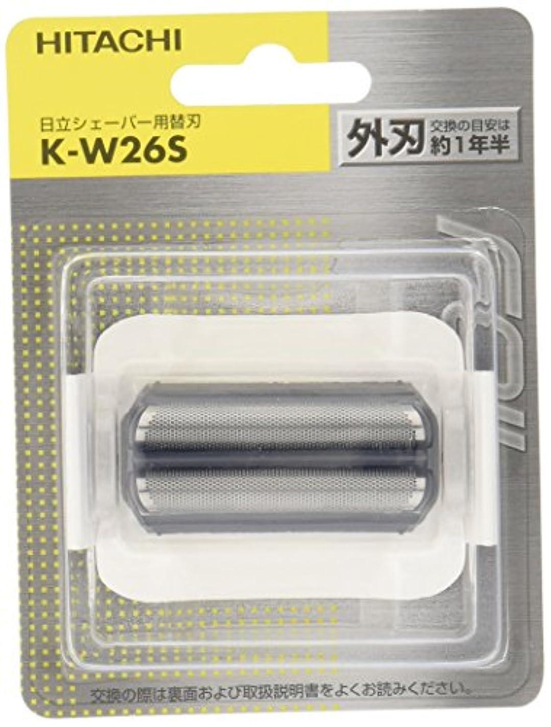帝国強います満足日立 替刃 外刃 K-W26S