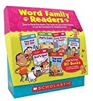Word Family Readers: Grades K-2: Easy-to-Read Storybooks That Teach the Top 16 Word Families to Lay the Foundation for Reading Success