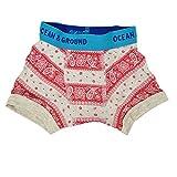(ocean&ground)オーシャン&グラウンド キッズ ボクサーパンツ 1611021 バンダナ パンツ ブリーフ 下着 肌着 ベビー ジュニア コットン 綿 インナー プリント 子供