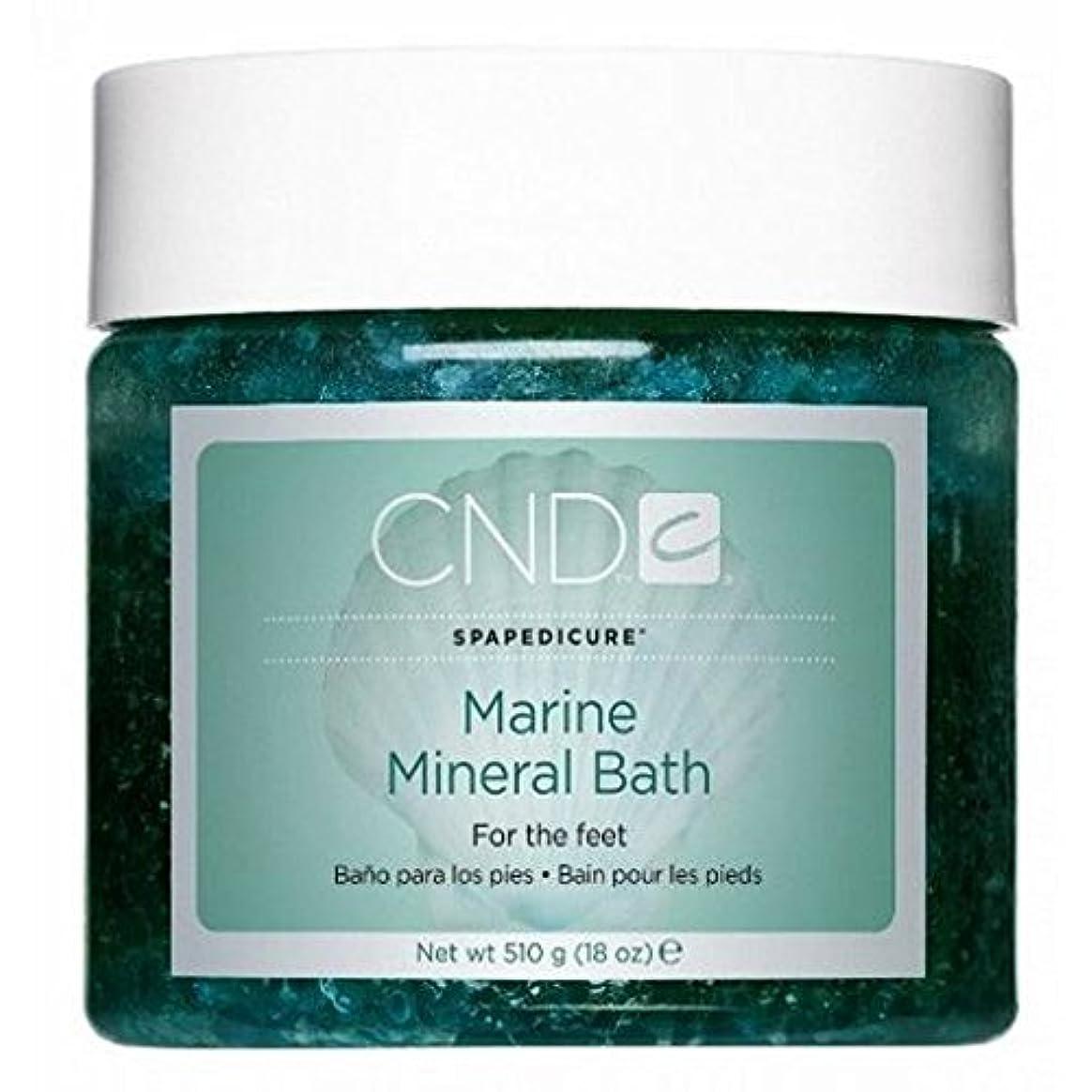 前任者燃料出しますCND SpaManicure - Marine Mineral Bath - 18oz