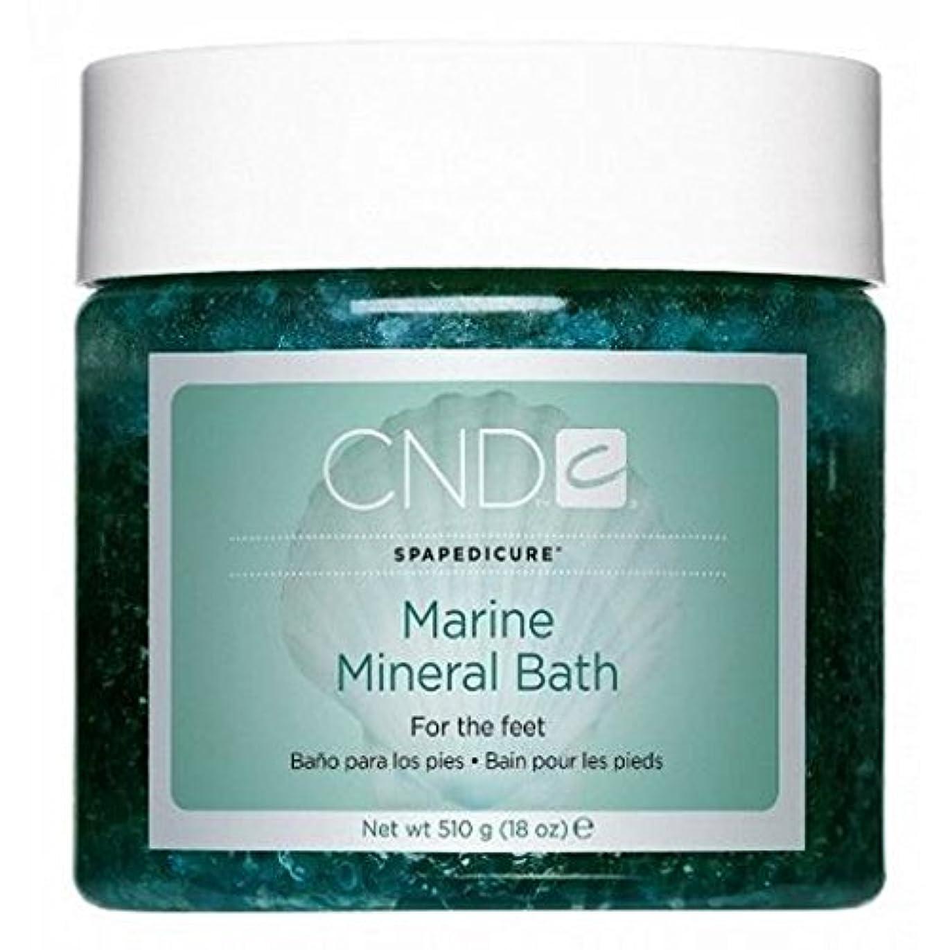 ショートカットパステルサーキットに行くCND SpaManicure - Marine Mineral Bath - 18oz