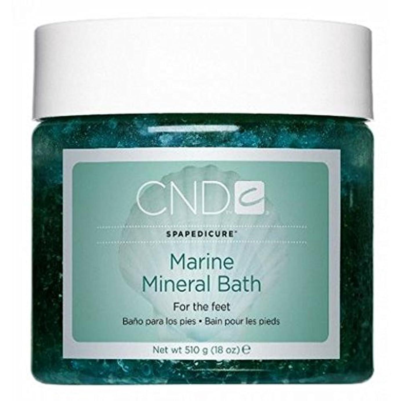 症候群トランジスタ雹CND SpaManicure - Marine Mineral Bath - 18oz