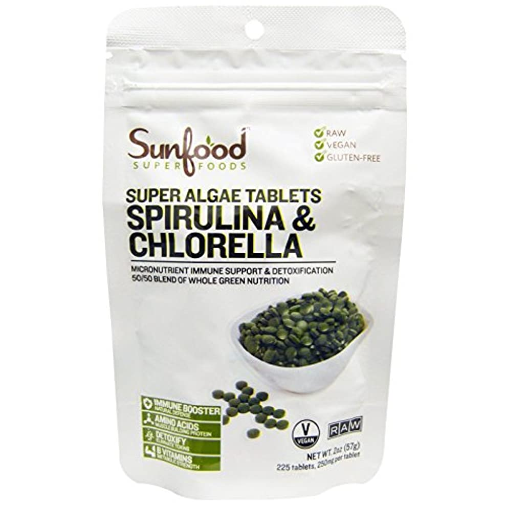 書き出す野菜オープニングスピルリナ&クロレラ タブレット 57g