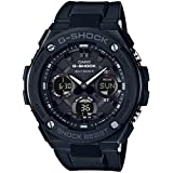 [カシオ] 腕時計 ジーショック G-STEEL 電波ソーラー GST-W100G-1BJF ブラック