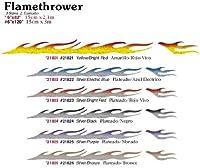 Flamethrower Smallビニールグラフィックデカール