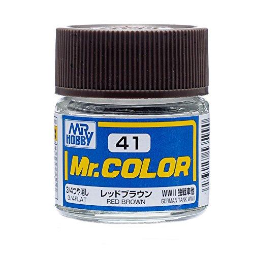 クレオス Mr.カラー C41 レッドブラウン