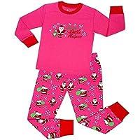 LUKEEXIN Fashion christmas pajamas for kids Boys Girls Pajamas Children Cotton Sleepwear Nightwear