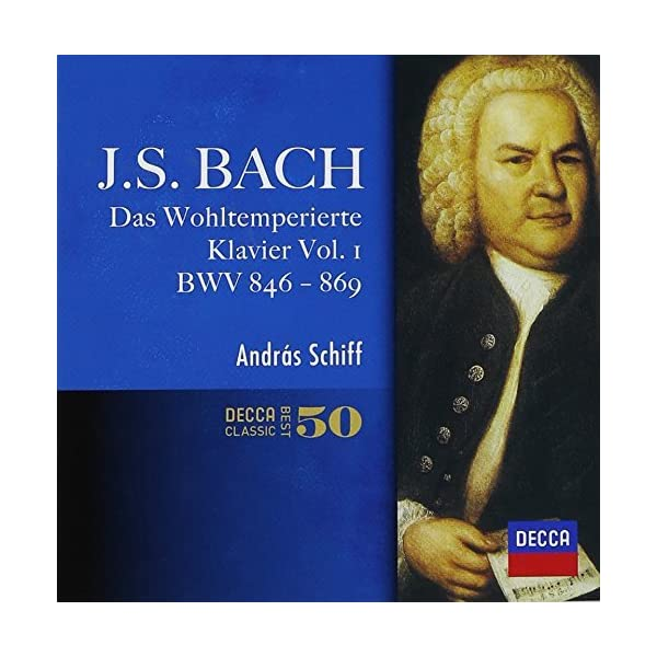 バッハ:平均律クラヴィーア曲集第1巻の商品画像