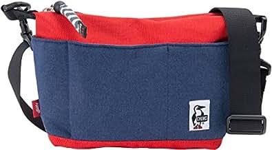 (チャムス) CHUMS ミニコレクトショルダー Mini Collect Shoulder ヘザーネイビー/トマト ショルダーバッグ ポーチ 斜めがけ