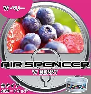 栄光社 車用 芳香消臭剤 エアースペンサー  カートリッジ 置き型 詰め替え用 ダブルベリー40g A44