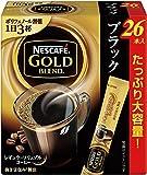 ネスカフェ ゴールドブレンド スティック ブラック 26P
