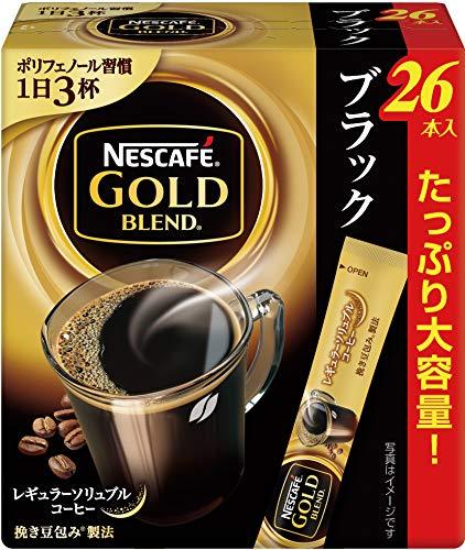ネスカフェ ゴールドブレンド スティック ブラック 26...
