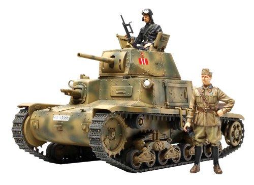 1 / 35 Tamiya No.296 1 / 35 Italien während Panzer M13/40 Kahlo / Armato