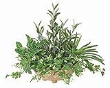 GREEN-s/造花 観葉植物 光触媒 グリーン 寄せ植オリーブ 48cm 383A10035