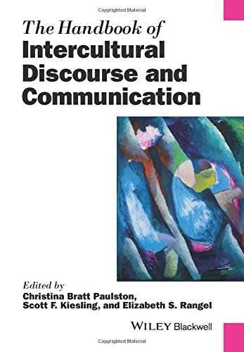 handbook intercultural communication Wiseman's (2002) chapter on intercultural communication competence, in the handbook of international and intercultural communication provides further descriptions of theories in icc while there have been several models of icc developed since then, well-formed and widely tested theories of icc remain few.