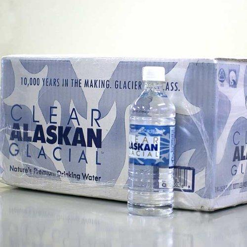 アラスカ 氷河の水 クリアアラスカングレイシャル 500ml × 24本