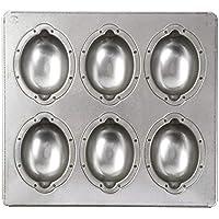 日本製 シリコン加工 天板 (レモンケーキ型6個取(レモン型天板))