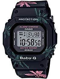 [カシオ]CASIO 腕時計 BABY-G ベビージーサマーフラワーパターン BGD-560CF-1JF レディース