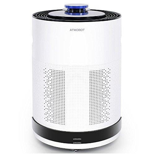 お部屋を巡回して空気をキレイにするロボット空気清浄機 ATMOBOT 650