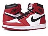 [ナイキ]NIKE AIR JORDAN 1 RETRO HIGH OG WHITE/BLACK/VARSITY RED 【CHICAGO】 [並行輸入品]