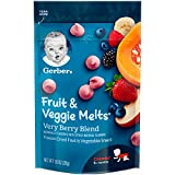 Gerber Fruit and Veggie Melts, Very Berry Blend, 1 Ounce (Pack of 7)
