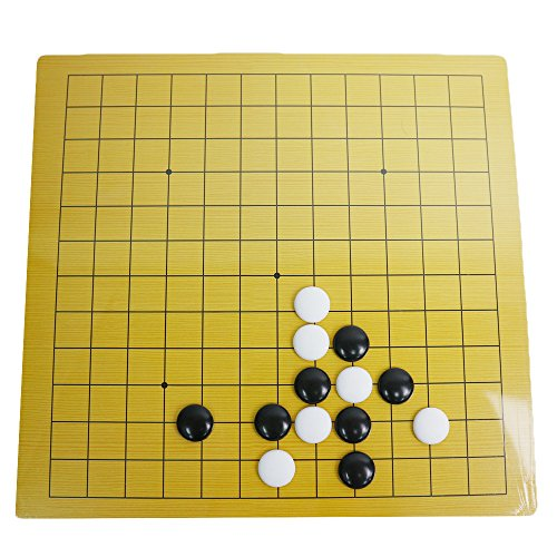 ∞ Infinity-style 囲碁 碁盤 碁石 セット 9路盤 13路盤 リバーシブル 薄型 初心者から上級者まで