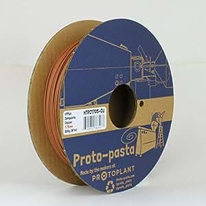 Proto-Pasta 銅金属複合HTPLA 3Dプリントフィラメント1.75ミリメートル500G