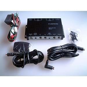 CAMOS バックカメラ3台接続可能! 12V~24V対応24V車で12V機器を使える!スイッチングボックス CMS-24