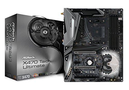 ASRock AMD X470チップセット搭載 ATXマザーボード X470 TAICHI ULTIMATE
