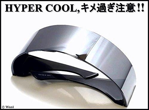 glsp01 キメ過ぎ注意報 ,HYPER COOL All-Silver-Mirror ストリート unisex 布ケース,ZIG特製クロス付 (si+z-cl+glc--)