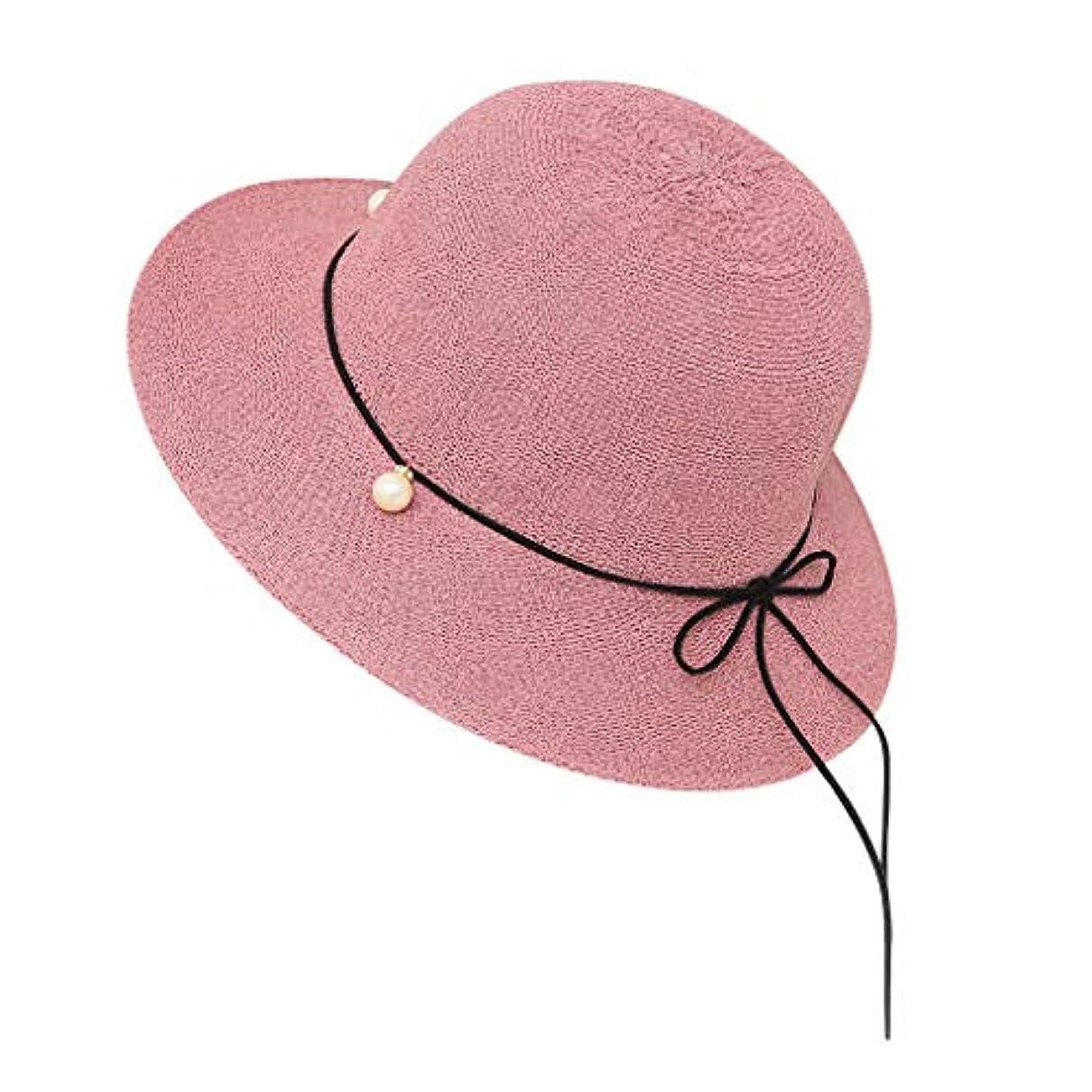熱心な推進力ロードハウス帽子 レディース 夏 女性 UVカット 帽子 ハット 漁師帽 つば広 吸汗通気 紫外線対策 大きいサイズ 日焼け防止 サイズ調節 ベレー帽 帽子 レディース ビーチ 海辺 森ガール 女優帽 日よけ ROSE ROMAN
