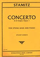 STAMITZ C. - Concierto Op.1 en Re Mayor para Contrabajo y Piano (Sankey)
