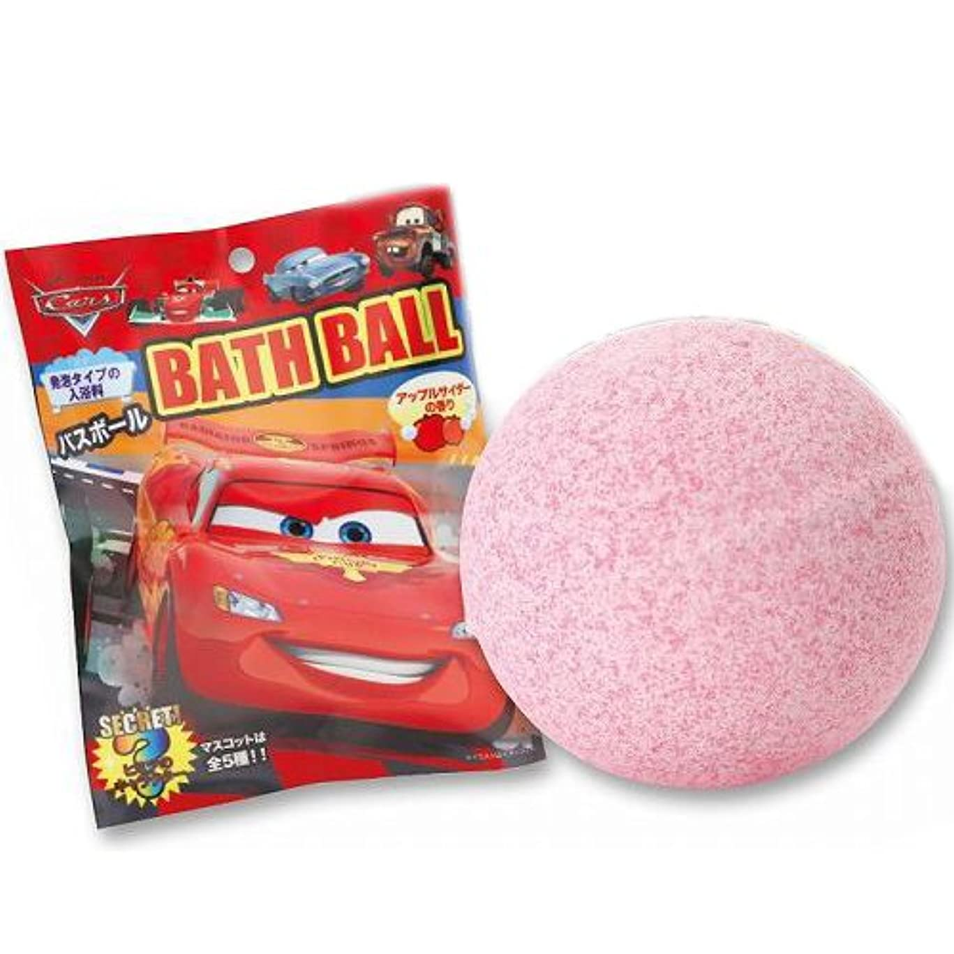 ブロックエキゾチック現実にはカーズ バスボール 入浴剤 CARS マスコットフィズ バスフィズ おもちゃ グッズ コレクション 12937【即日?翌日発送】